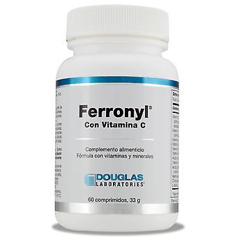 Douglas Ferronyl with Vitamin C 60 Tablets