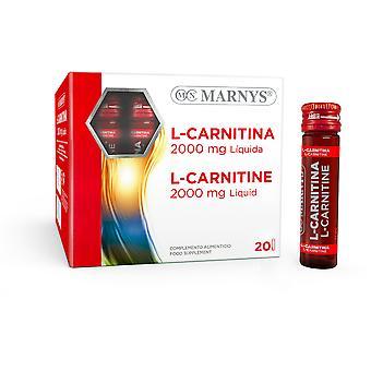 Marny's L-Carnitina 2000mg LIquido 20 Fiale