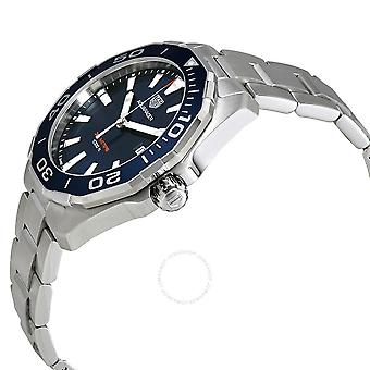Tag Heuer Aquaracer Blue Dial Men's Watch WAY101C.BA0746
