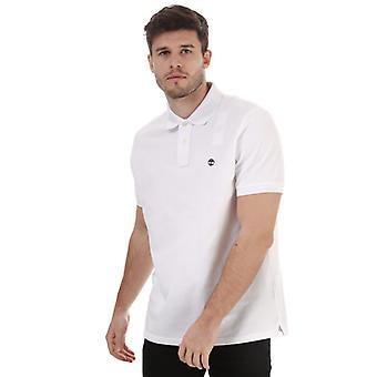 Timberland Miller Polo skjorte for menn i hvitt