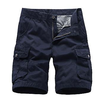 YANGFAN Men's Lightweight Multi Pockets Casual Cargo Short