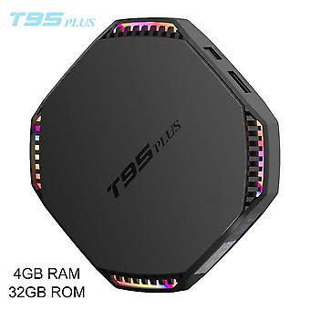 T95 plus android 11.0 tv box 8g ram rockchip rk3566 8k ultra hd media player 5ghz wifi bluetooth set top box quad-core 64-bit