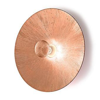 Kolarz MOON - Livsstil Glass Ekstra Stor Vegg Lys Matt - Sun Copper Finish, 1x E27