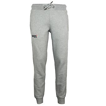Superdry men's grey marl classic joggers