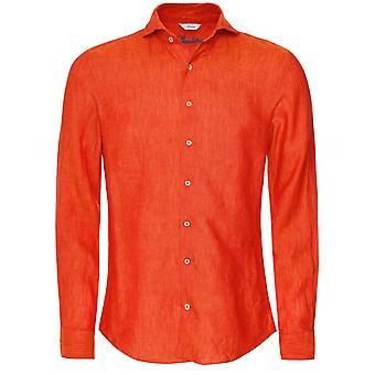 Stenstroms Slimline Linen Shirt