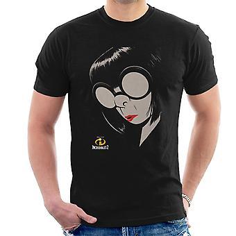 Pixar The Incredibles 2 Edna E Mode Miesten't-paita
