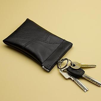 Leather Long Pocket Key Wallet / Keyring