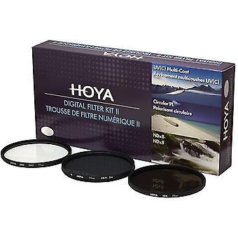 FengChun Digital Filter Kit (77mm) inkl Cirkular Polfilter/ND-Filter (NDx8)/HMC-C, UV-Filter