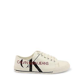 كالفن كلاين -BRANDS - أحذية - أحذية رياضية - DEMIANNE-B4R0856-100-WHITE - نساء - عاج - الاتحاد الأوروبي 36