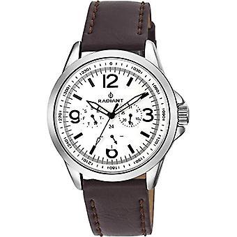 Radiant Men's Quartz Chronograph Watch with Leather Strap RA413702