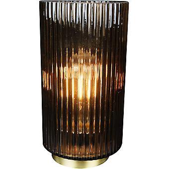 FengChun Lighting - Linear Dark Brown Batterie-Operated Lampe