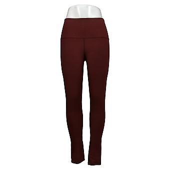 Vrouwen met control legging xxs lange omkeerbare geen zijnaad bruin A384088