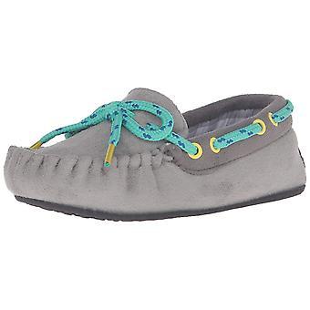 Trimfit gutter grå med rutete fôr Mocassin skoen Moccasin
