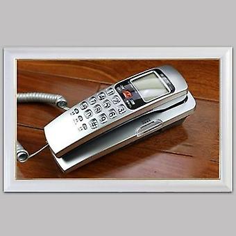 Fashion Corded Phone Landline Telephone With Fsk / Dtmf Caller