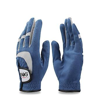 Golf Gloves, Fabric Left-right Hand For Golfer Sports Ads Glove