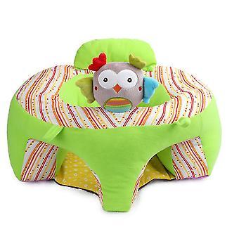フクロウの赤ちゃん抗落下シート、赤ちゃんぬいぐるみソファ、学習便az21291