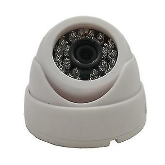 Ntsc белый 1080p hd cctv камера видеонаблюдения купольный и ночной домашний надзор в помещении / на открытом воздухе az19481
