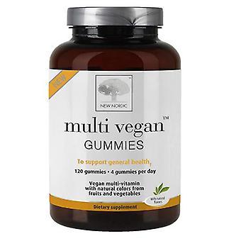 New Nordic US Inc Multi Vegan Gummies, 120 Gummies