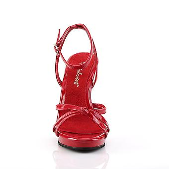 Fabulicious Women's Zapatos FLAIR-436 Red Pat/Red