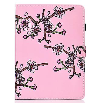 Case For Ipad Pro 11 2018 Cover With Auto Sleep/wake Pattern Magnetic - Plum Flower