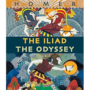 Neil Packerin IliadThe Odyssey Boxed Set by Gillian Cross & Illustrated