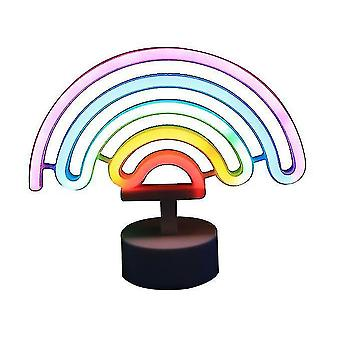フラミンゴネオンライト LED ナイトライトデスクトップクリエイティブバッテリー漫画ナイトライトムーンスターモデリング
