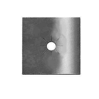 Gas Stove Cleaning Protection Pad Set, Anti-oil Pad,reusable4pcs(Black)