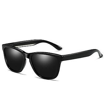 Polariserede solbriller UV400 beskyttelse Sort / Grå