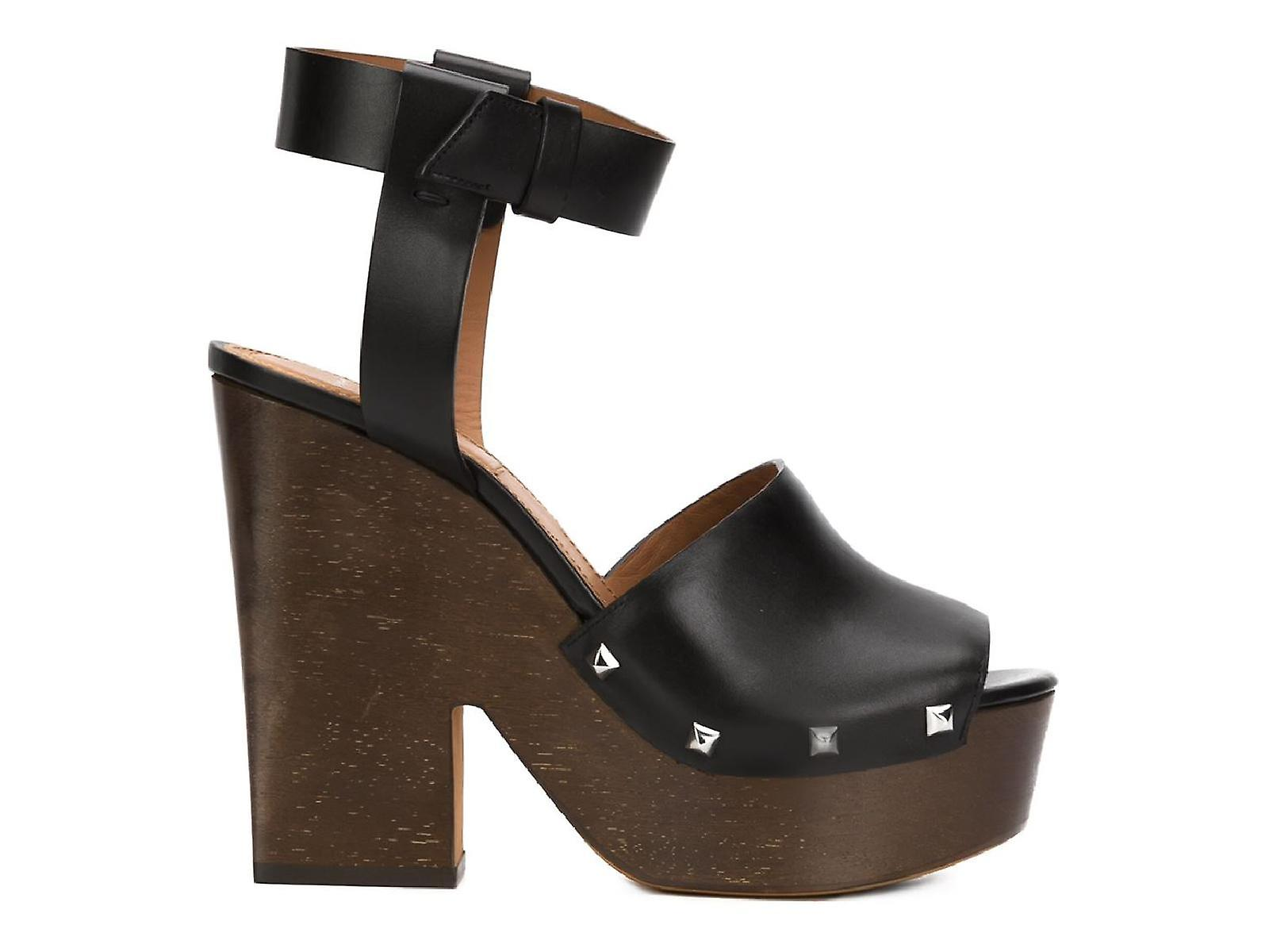 Givenchy 'Sofia' clogs sandals in black Calf leather bCphL