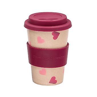 Emma Bridgewater Pink Hearts Travel Mug