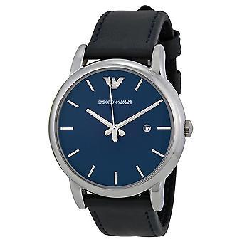 Emporio Armani AR1731 Luigi Blue Strap Blue Dial Date-Window Chronograph Watch