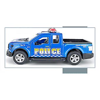 Police Series Alloy Die-casting Children's Car Toy Model