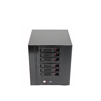 Bay Server Case Network Nas -tallennustila kuumalla vaihdolla.