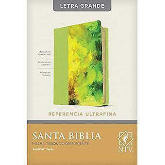 Santa Biblia NTV, Edicion de referencia ultrafina, letra gra