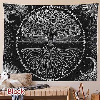 Life Tree Tapestry Wall Hanging Psychedelic Bohemian Hippie Wishing