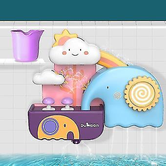 Bath toys age 3+ bath toys pipeline water spray shower game b