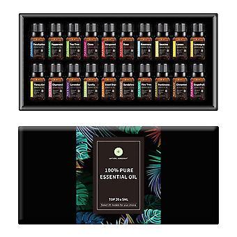 Superventas nórdica inspirada en 20 piezas conjunto de aceites aromáticos esenciales