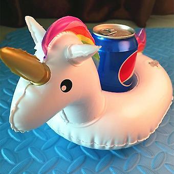 Animal Shape Inflatable Cup Holder Drink Floating Beverage Boats Phone Holder