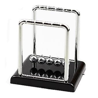 Newton's Cradle met marmeren look base desk cadeau decoratie speelgoed klein formaat