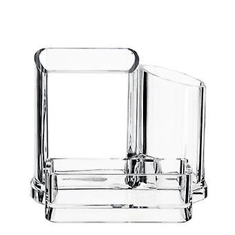 Transparente Kosmetikbürste Aufbewahrungsbox, Kosmetik-Aufbewahrungsbox, Schmuck-Aufbewahrungsbox, Bürobedarf, Stifthalter