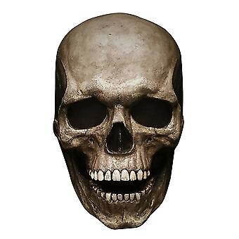 Uhyggelig Halloween fuld hoved kraniet skræmmende spoof maske