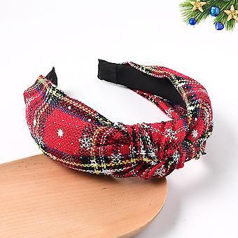 Jul pannband julgåva för flicka Noel hårband
