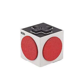 retro cu-be bærbar bluetooth høyttaler lydboks v4.0 edr spill høyttaler dpad stil