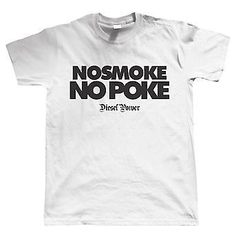 No Smoke No Poke, Diesel Power TDi Mens T Shirt - Gift for Dad