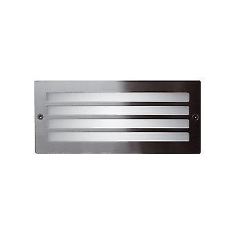 Ansell Inox Bricklight 40W E27 Stainless Steel