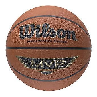 Wilson MVP tradisjonelle serien Basketball [brown] - størrelse 7