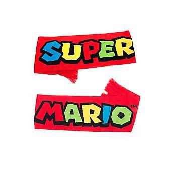 Sciarpa di Nintendo Super Mario Bioworld sciarpe rosso (KS180201NTN)