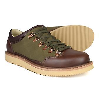 Timberland Abington alpin OX brunt läderskor 81505