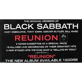 Black Sabbath Reunion Poster