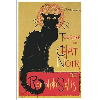 Tournee du Chat Noir Poster Print by Theophile-Alexandre Steinlen (24 x 36)